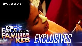 Your Face Sounds Familiar Kids Exclusive: Celebrity Kid Performers Transformation into Icons Week 12