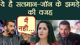 Race 3 : Katrina Kaif REASON behind Salman Khan - John Abraham FIGHT | FilmiBeat