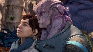 Mass Effect: Andromeda. Jaal Romance