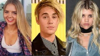 Justin Bieber Parties With Rihanna and Blonde Model in London As Sofia Richie Debuts New Haircut …