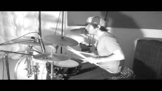 Jimmy Kadesch - Black and White Drum Solo 3