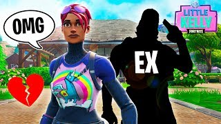 LITTLE KELLY'S EX BOYFRIEND COMES TO FORTNITE ISLAND - Fortnite Short Film