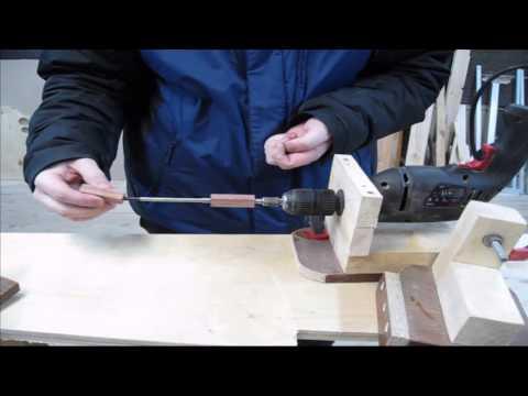Ручка для ножа из дерева своими руками фото
