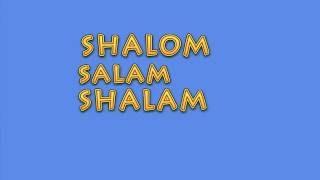 shalom, salam, shalam, wallas oliver, paroles pour la Paix.