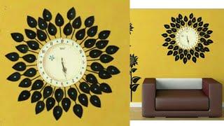 DIY Floral Designer Wall Clock/Diy wall clock/Wall Decor & Art/Room Decor/art my passion 18