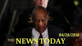 Comedian Bill Cosby Convicted Of Sexual Assault In Retrial   News Today   04/26/2018   Donald Trump