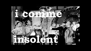 Charlie Chaplin - I comme Insolent