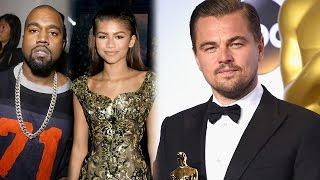 Celebs React To Leonardo DiCaprio Winning at 2016 Oscars