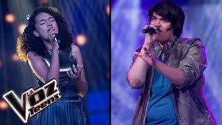 Gisel canta 'Como yo nadie te ha amado' y Andy canta 'Sorry' | Súper Batallas | La Voz Teens
