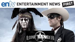 JOHNNY DEPP 'LONE RANGER' PICS: First Movie Photos Released and Behind-The-Scenes News: ENTV