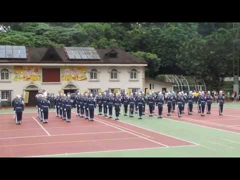 2013 5 17 空軍樂儀隊中華科技大學校慶 國軍人才招募表演操