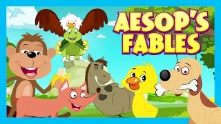 Fables For Children - Bedtimes Stories For Kids || Kids Hut Stories - Aesop