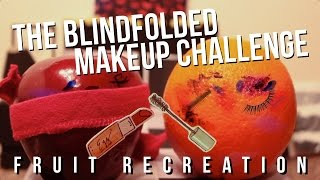DAN AND PHIL BLINDFOLDED MAKEUP CHALLENGE FRUIT RECREATION