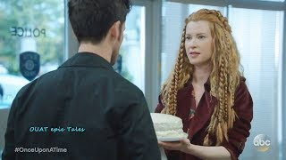 Once Upon A Time 7x08 Henry Meets Nick (Lucy Father) - Witch Brings Hook Cake Season 7 Episode 8
