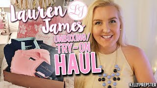 "LAUREN JAMES UNBOXING // ""PREPPY"" TRY-ON HAUL 2017 
