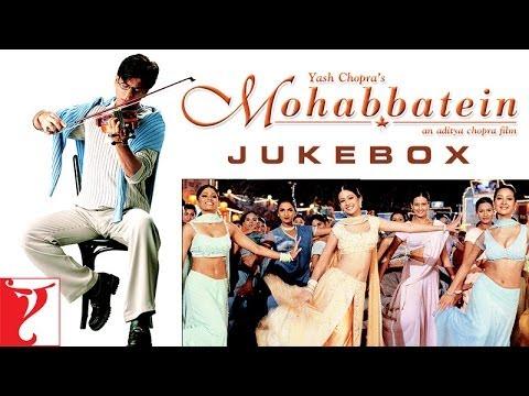 Mohabbatein Audio Jukebox | Full Songs | Jatin-Lalit | Shah Rukh Khan | Aishwarya Rai