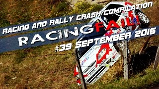 Racing and Rally Crash Compilation Week 39 September 2016