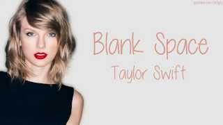Taylor Swift Blank space lyrics