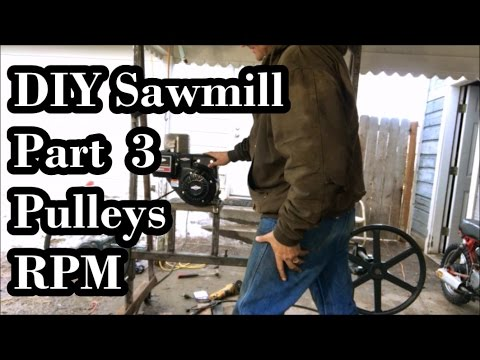 Xxx Mp4 DIY Sawmill Pt 3 Pulleys Alignment And RPM S 3gp Sex
