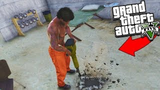 GTA 5 PRISON ESCAPE ROLEPLAY! MAXIMUM SECURITY ESCAPE!!! GTA 5 Mod Gameplay
