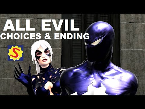 All Evil Choices and Evil Ending Spider Man Web of Shadows
