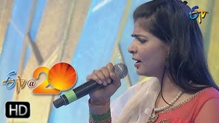 Chinmayi Performance - Ra Rakumara Song in Kadapa ETV @ 20 Celebrations