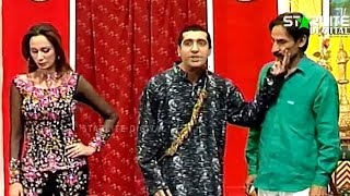 Zara Jhoom Jhoom Iftikhar Thakur and Zafri Khan New Pakistani Stage Drama Full Comedy Funny Play