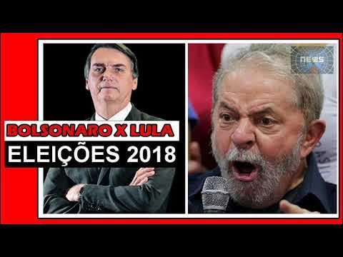 Bolsonaro compara Lula a chefe de facção e diz que o petista comanda o PT de dentro da cadeia.