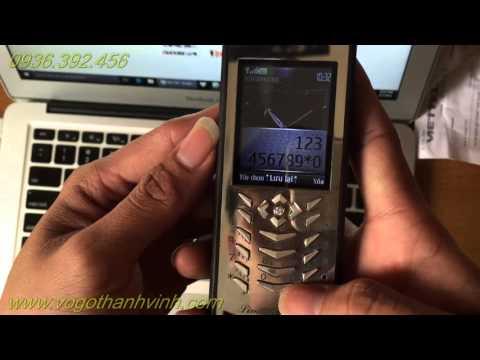 Nokia 7210 áp thép - phím bạc