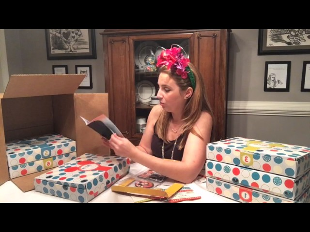 Unboxing of Disney's Countdown to Fun Product