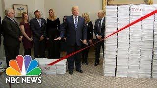 President Donald Trump Touts 'Regulatory Savings' At White House Event | NBC News