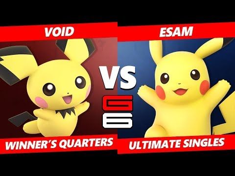 Xxx Mp4 Genesis 6 SSBU CLG VoiD Pichu VS PG ESAM Pikachu Smash Ultimate Winner S Quarters 3gp Sex