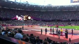 God Save Our Queen - Mo Farah Olympic Gold Ceremony