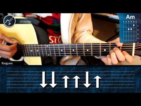 Cómo tocar Quien Te Cantará en Guitarra HD Tutorial Acordes Christianvib