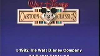 Closing to Walt Disney Cartoon Classics: The Goofy World of Sports 1992 VHS