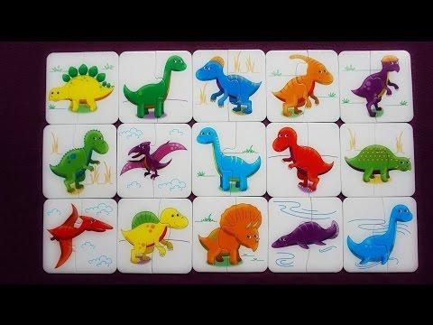 Dinosaur Matching Game for Kids!   K's Toys