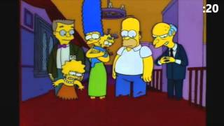 60 Second Simpsons Review - The Shinning (Treehouse of Horror V)