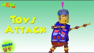 Toys Attack - Motu Patlu in Hindi - 3D Animation Cartoon for Kids -As seen on Nickelodeon