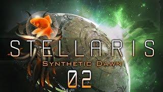 STELLARIS 1.8.1 beta #02 GOLDFISH EXPANSION Stellaris Synthetic Dawn DLC - Let