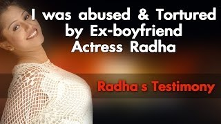 How I was Treated  by Ex-boyfriend Actress Radha - Red Pix 24 x 7