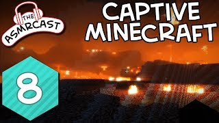 ASMR Gaming: Captive Minecraft - #8 A Nether Experience Binaural 1080p 60fps
