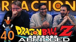 TFS DragonBall Z Abridged REACTION!! Episode 40