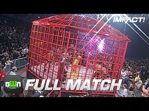 Xxx Mp4 10Man XDivision Steel Asylum Cage Match TNA Bound For Glory 2008 IMPACT Wrestling Full Matches 3gp Sex