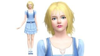 The Sims 3: How to Create a Beautiful Sim (CAS Cute Girl!)