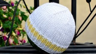 Download How to Knit an Easy and Basic Baby Hat 3Gp Mp4