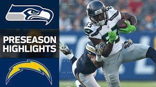 Seahawks vs. Chargers | NFL Preseason Week 1 Game Highlights