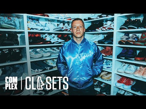 Macklemore Shows Off His Never-Before-Seen Jordan Collabs On Complex Closets