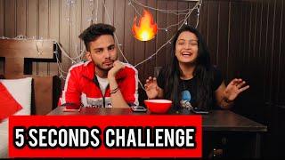 5 SECONDS CHALLENGE- KIRTI MEHRA feat Elvish Yadav