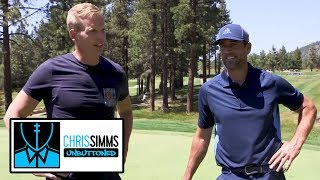 Aaron Rodgers on his preparation, evolution of his throw | Chris Simms Unbuttoned | NBC Sports