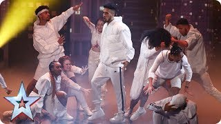 Ready or not! Empire Dance Crew storm the BGT stage | Semi-Final 1 | Britain's Got Talent 2017